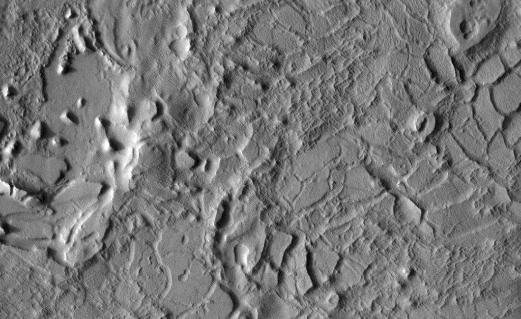 Lucus Planum lava flow